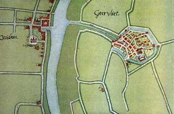 Kaart van Deventer