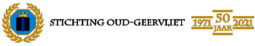Welkom op de website van Stichting Oud Geervliet